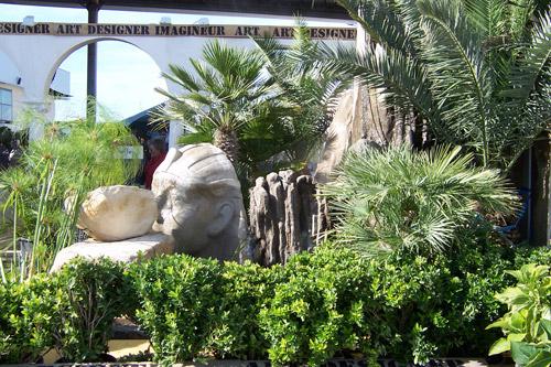 Sculpture-extérieure-Fontaine