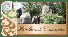 Rochers et cascades pour jardin et piscine, designer hérault